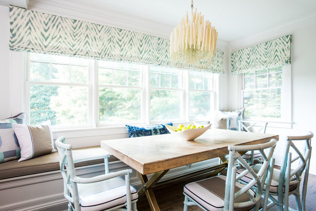 Transitional Dining Room by Roost Interiors