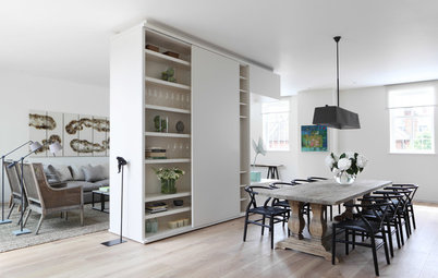 How to Divide an Open-Plan Space With a Half Wall