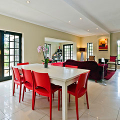 modern dining room by Forefront Properties