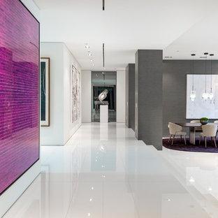 Modernes Esszimmer in Los Angeles