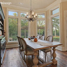 Traditional Dining Room by Hollingsworth Design