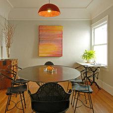 Midcentury Dining Room by Megan Nordin Designs