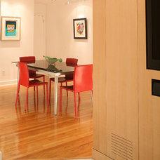 Contemporary Dining Room by J. Rhodes Interior Design, Inc.
