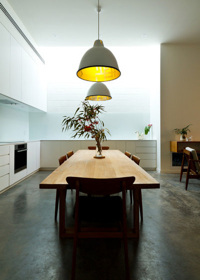 Contemporary Dining Room by Architects EAT