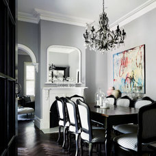 Transitional Dining Room by Bloom Interior Design