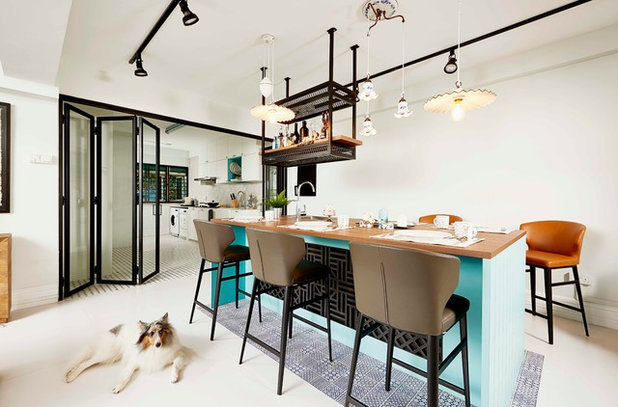 Eclectic Dining Room by Versaform