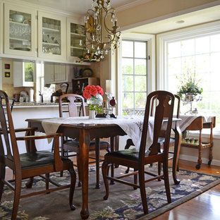 Inspiration for a country dining room remodel in San Luis Obispo