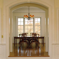 Traditional Dining Room by Candace M P Smith Architect