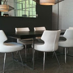 Aventura Contemporary Dining Room Miami By Arnold
