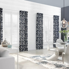 Modern Dining Room by 3 Blind Mice Window Coverings, Inc.