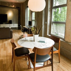 Modern Dining Room by SBaird Design