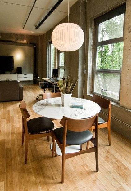 Modern Dining Room by SBaird Design