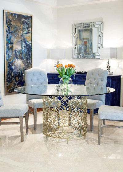 Fusion Dining Room by Accentuate Home