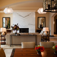 Contemporary Dining Room by Michelle Pheasant Design, Inc.