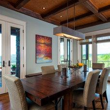 Traditional Dining Room by Dillard-Jones Builders, LLC