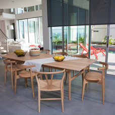 Contemporary Dining Room by Dupuis Design