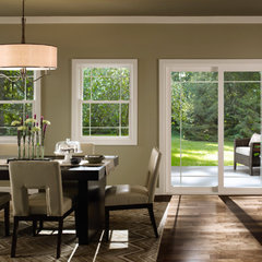 traditional dining room by Pella Windows and Doors