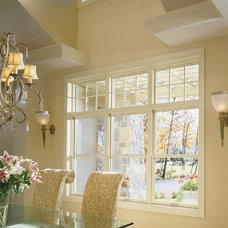 Contemporary Dining Room by Pella Windows and Doors