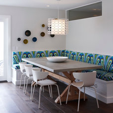 Eclectic Dining Room by Eric Aust Architect