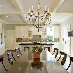 traditional dining room by Dewson Construction Company