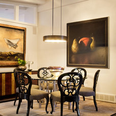 Contemporary Dining Room by Marvin Jensen @ Windermere Real Estate