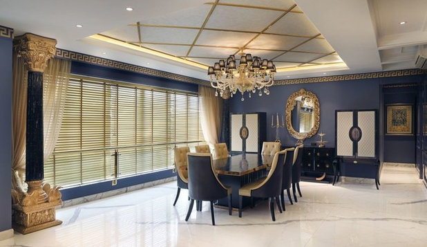 Contemporary Dining Room by ACDS
