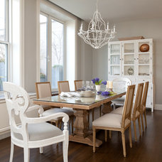Traditional Dining Room by A-List Interiors