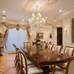 traditional dining room by In-Site Interior Design