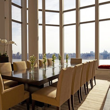 Contemporary Dining Room by Clark Gaynor Interiors