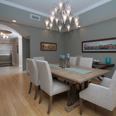 Beach Style Dining Room by J. S. Perry & Co., Inc.