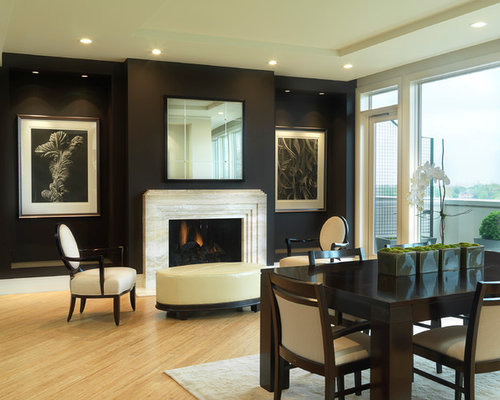 dark walls light floor home design ideas pictures remodel and decor. Black Bedroom Furniture Sets. Home Design Ideas