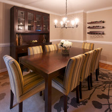 Traditional Dining Room by Olamar Interiors