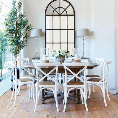 Traditional Dining Room by French Dressing