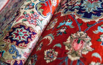 Inspiration: Sådan indretter du med ægte tæpper under spisebordet