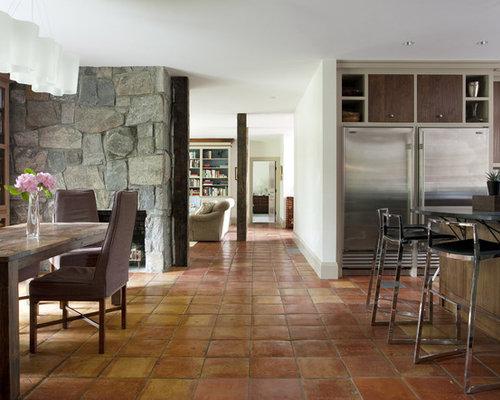 Terra Cotta Tile Floor Ideas Pictures Remodel And Decor
