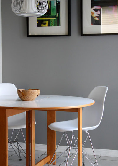 Contemporary Dining Room by Leclair Decor