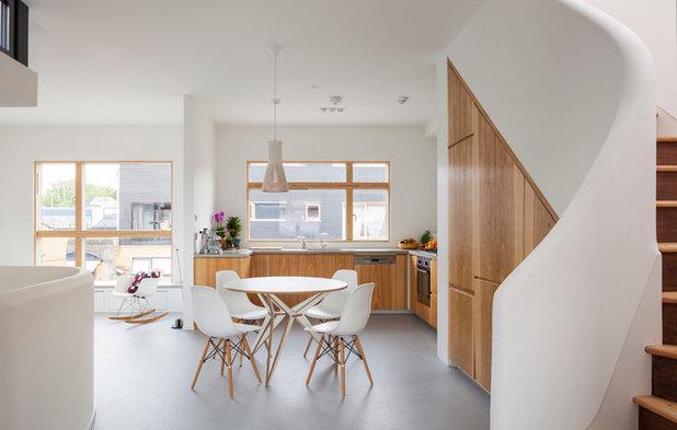 Scandinavian Dining Room by Scenario Architecture