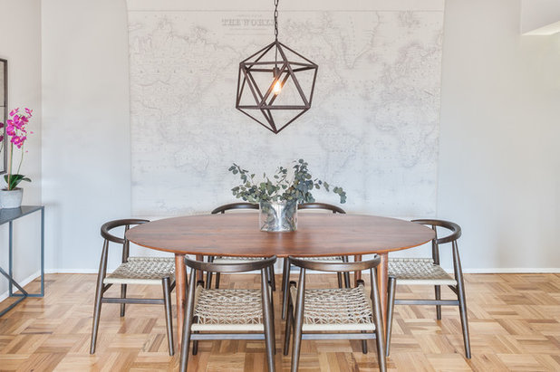 Contemporary Dining Room by The Design High