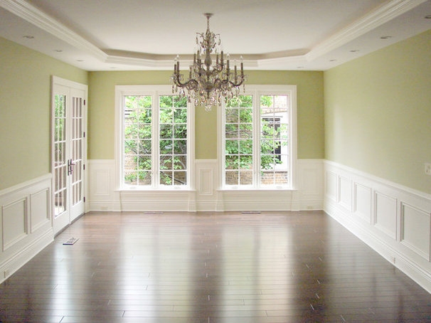 Traditional Dining Room by Groundwork, Ltd.