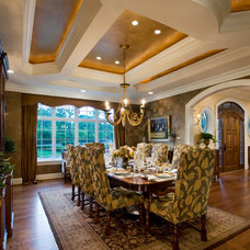 Traditional Dining Room by Guidi Homes