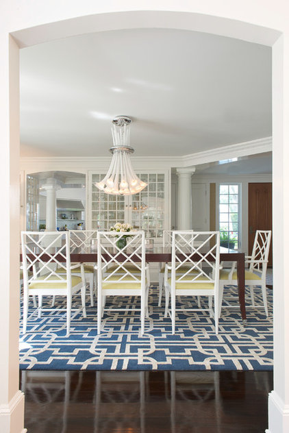 Beach Style Dining Room by House of Clement