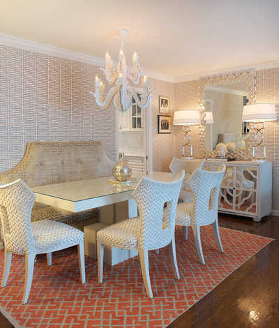Fabulous Transitional Dining Room by Gilles Clement Designs