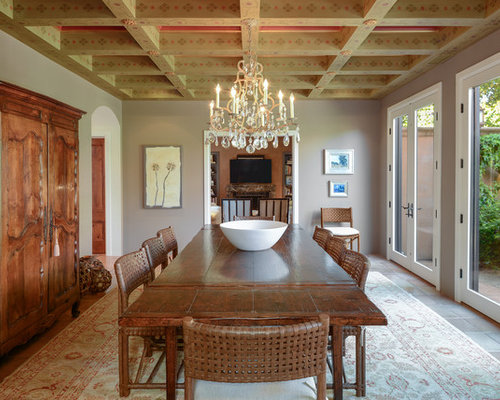 Traditional dining room design ideas remodels photos for Dining room remodel ideas