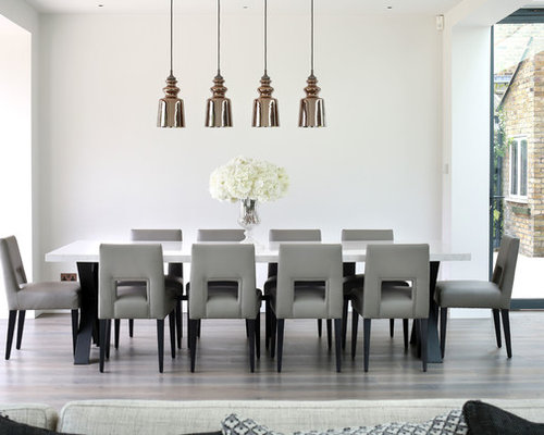 Large dining table seats 12 14 people home design ideas for Big modern dining table