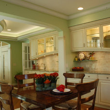 Traditional Dining Room by B. W. Interiors Chicago