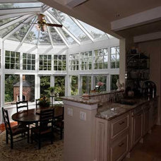Traditional Dining Room by Conservatory Craftsmen
