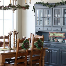 Traditional Dining Room by APDesign
