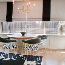 Contemporary Dining Room by Lily Z Design Inc.