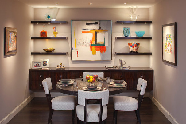Contemporary Dining Room by EJ Interior Design, Eugenia Jesberg