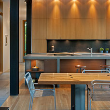 Contemporary Dining Room by Carlton Architecture